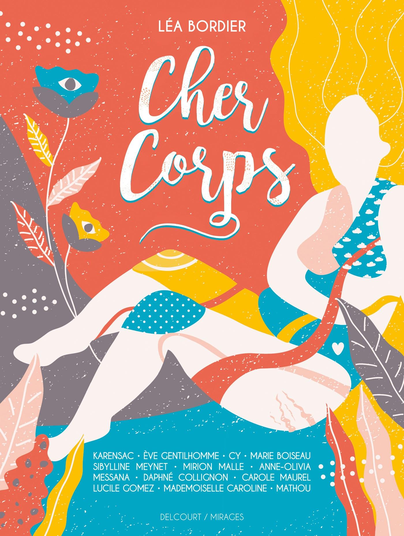 Cher Corps de Collectif, Léa Bordier - Album | Editions Delcourt