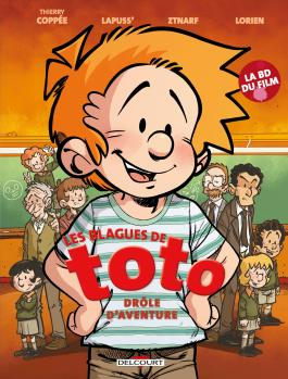 couverture blague de toto
