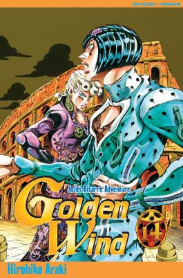 Jojo's - Golden Wind T14 Jojo's Bizarre Adventure
